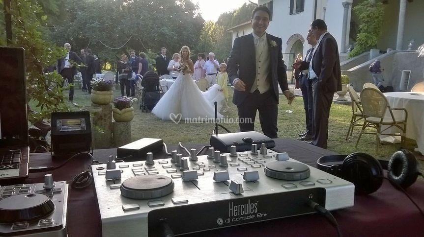 Mario Lox Dj at Wedding Party