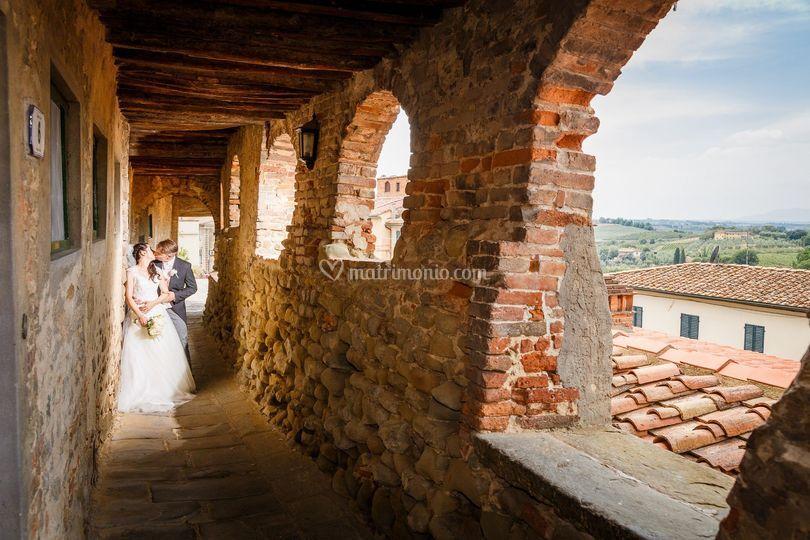 Wedding in Vinci