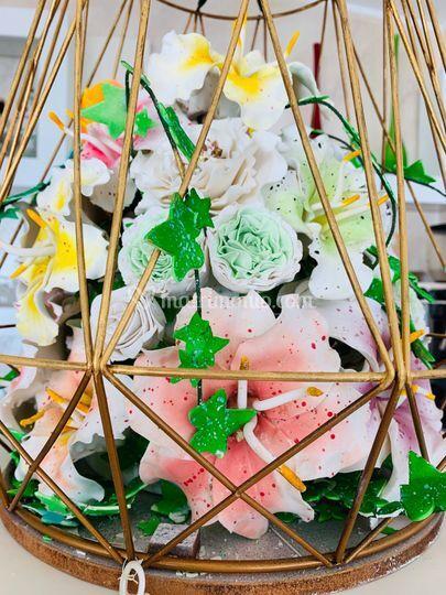 Fiori zucchero artigianali