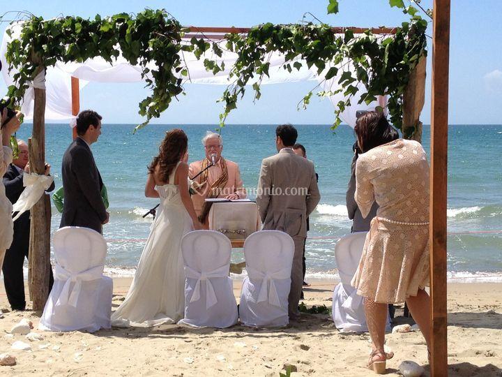 Matrimonio spiaggia follonica