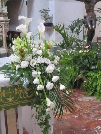 Mazzo  altare