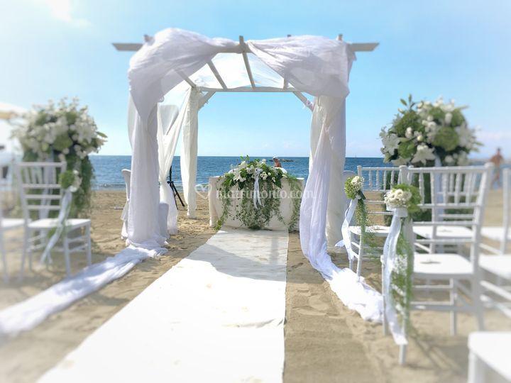 Matrimonio Al Mare Toscana : Matrimonio al franco mare forte dei marmi versilia toscana