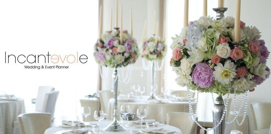 Centrotavola di Incantevole Wedding & Event Planner