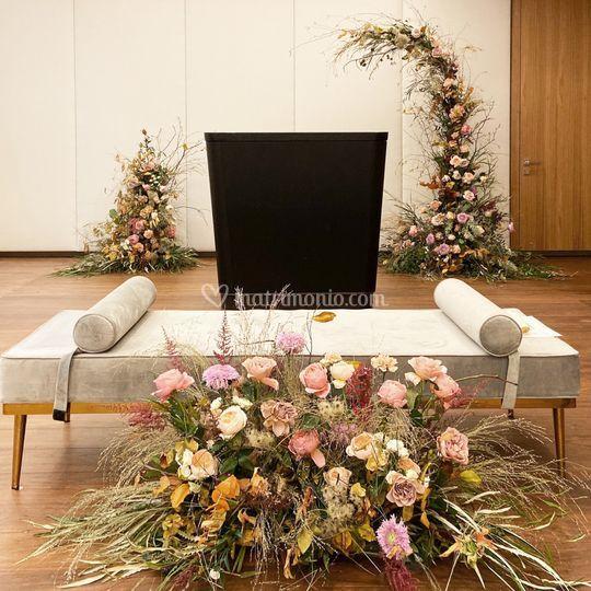 Allestimento cerimonia civile