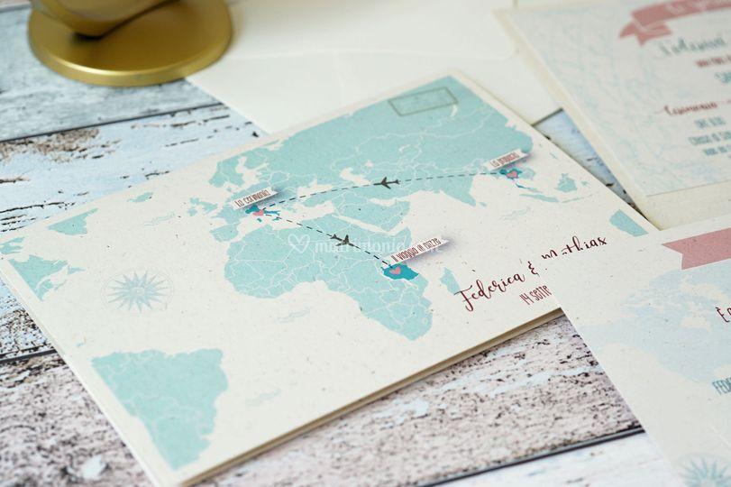 """Partecipazione """"World Map"""""""