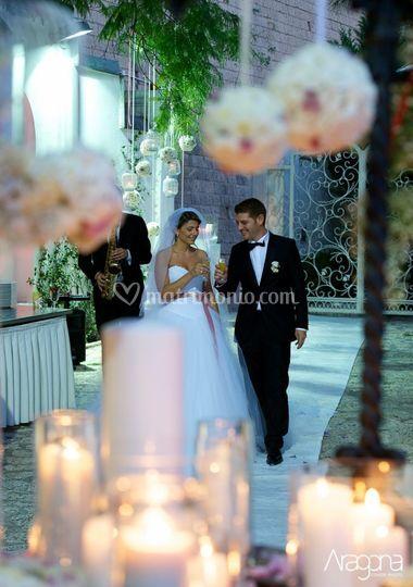 Sposi a Villa Mazzarella