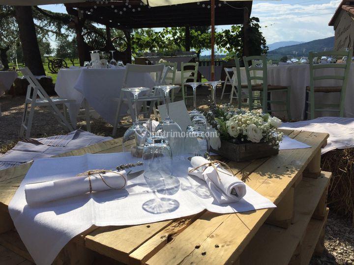 Matrimonio a buffet
