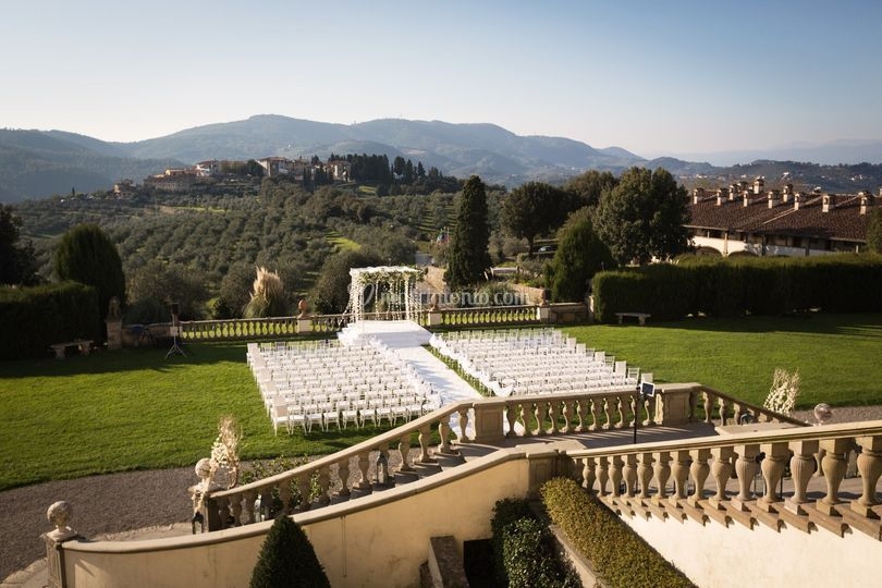Wedding belvedere
