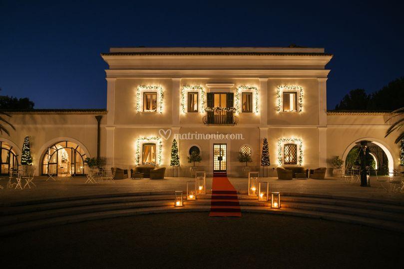 Villa a Natale