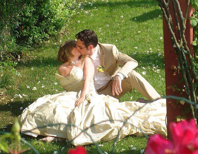 Sposi a Villa Daniela Grossi
