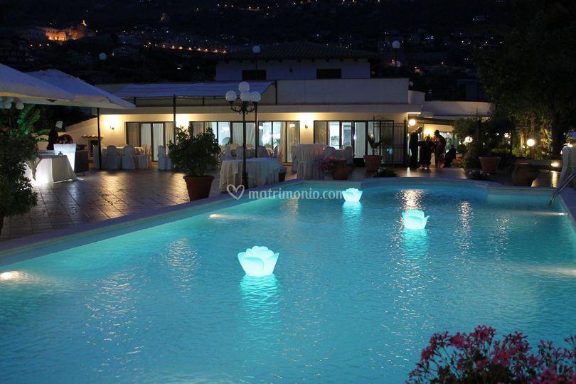L'incantevole piscina