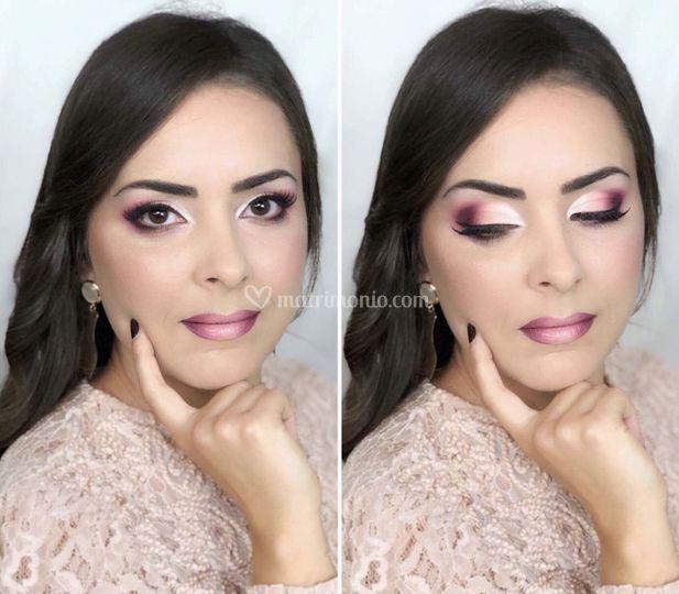 Makeup toni ciliegia