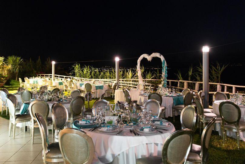 Cena Romantica sul Prato