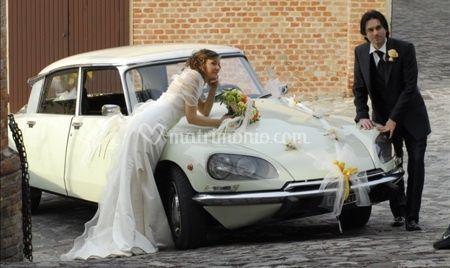 Citroen Ds Squalo - Exclusive Wedding