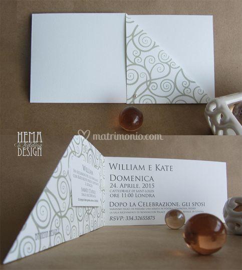 Partecipazioni Matrimonio Klimt.Hema Design Matrimonio Com