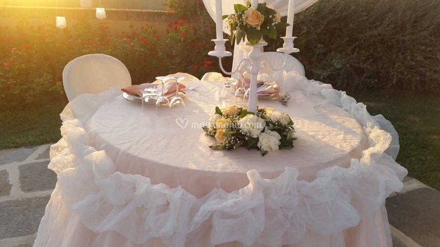 Sposi rosa cipria