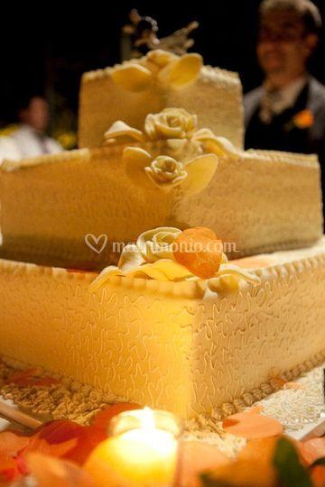 Wedding cake quadrata