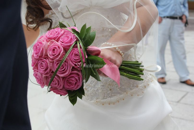 Bouquet Rose Aqua