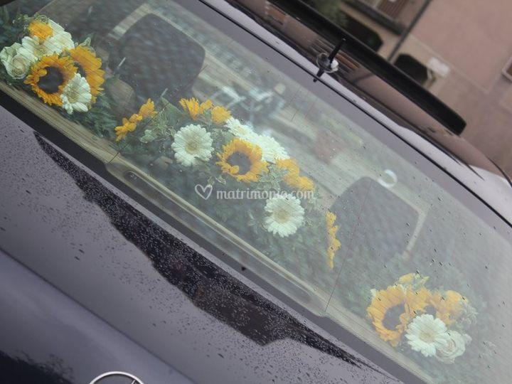 Allestimento auto giallo