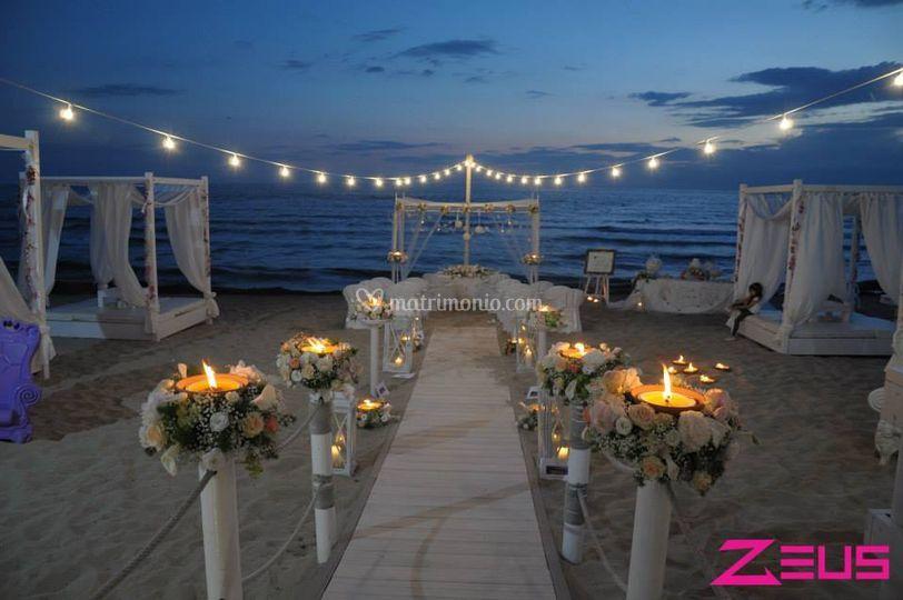 Matrimonio Spiaggia Puglia : Wedding on the beach di san giorgio resort foto