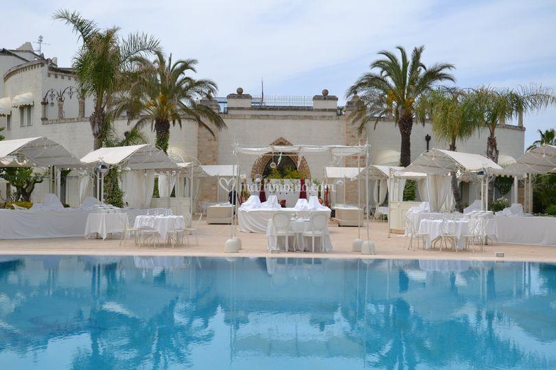 Esterno piscina di san giorgio resort foto 11 - Piscina san giorgio jonico ...