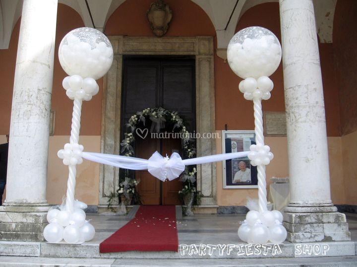 Addobbi con palloncini per matrimonio da96 regardsdefemmes - Decorazioni matrimonio palloncini ...