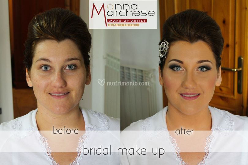 Trucco sposa strong