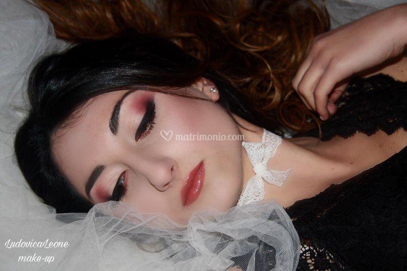 Bride makeup..