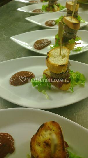 Hamburger di manzo di kobe