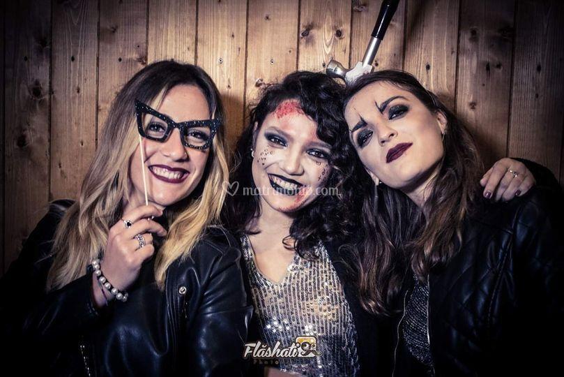 Flàshati Matera ad Halloween