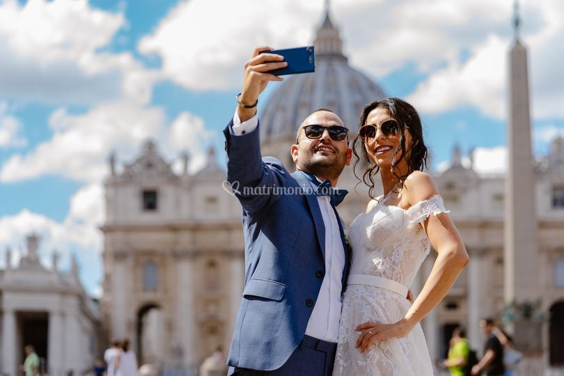 Selfie sposi