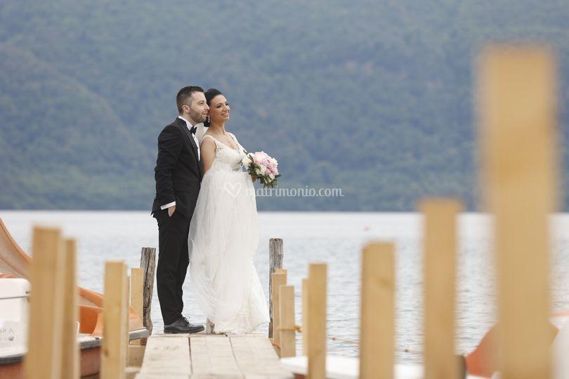 Lago di albano sposi