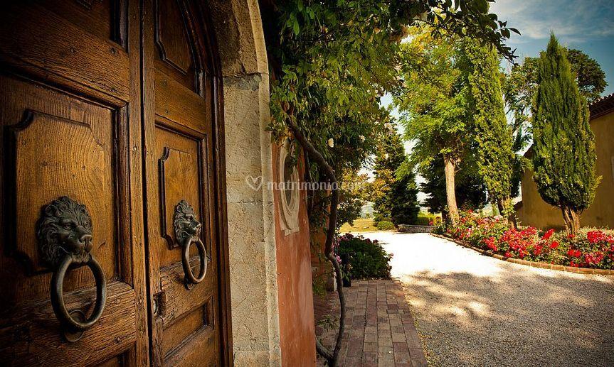 Villa La Cerbara ingresso