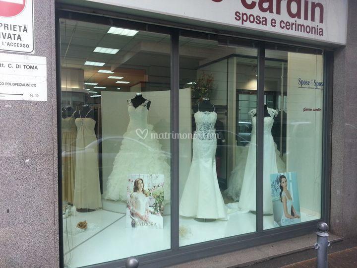 La vetrina sposa