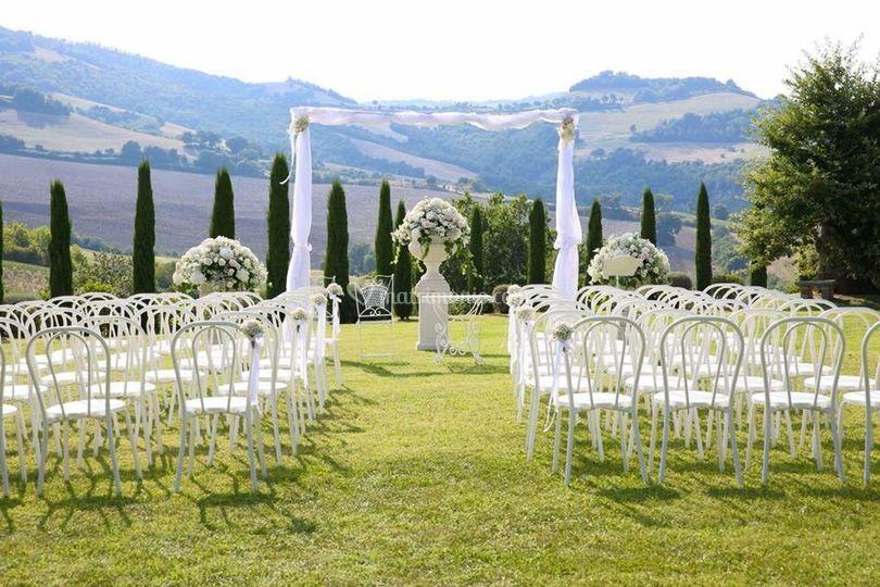 Villa La Cerbara - Matrimonio