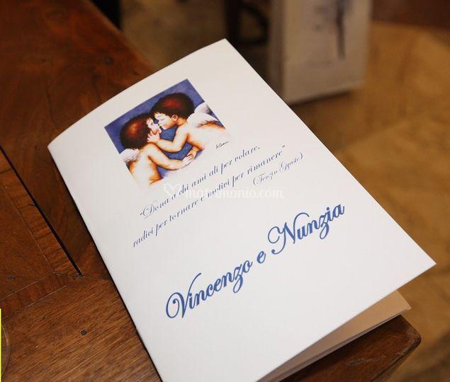Libretto Matrimonio Simbolico : Celebrante nozze simboliche