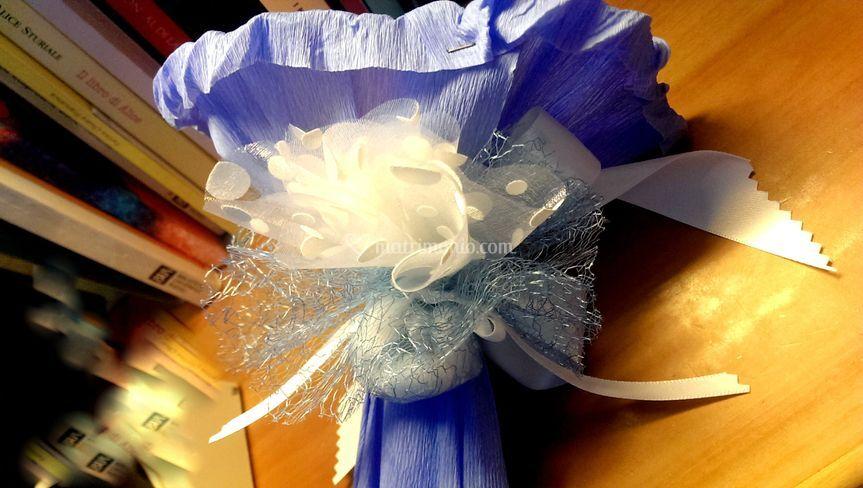 Dettaglio Bouquet e confetti