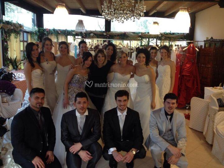 Sfilata abiti sposa 2014
