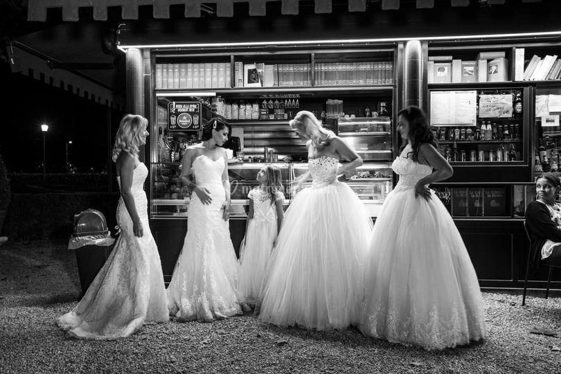Bride's in rome