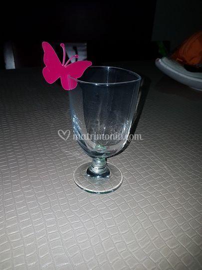 Segnaposto plexiglass farfalla