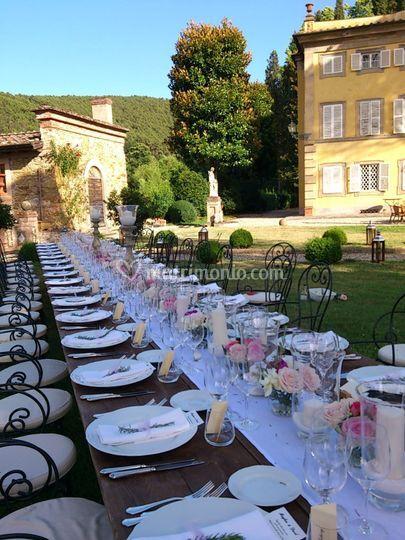 Segnaposto Matrimonio Rustico : Allestimento matrimonio rustic green