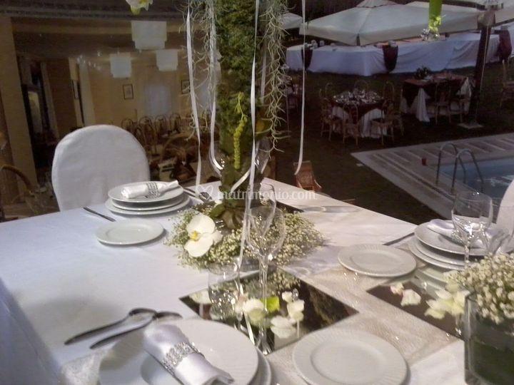 Il tavolo del ristorante