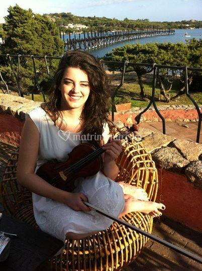 Cecilia Concas - violin
