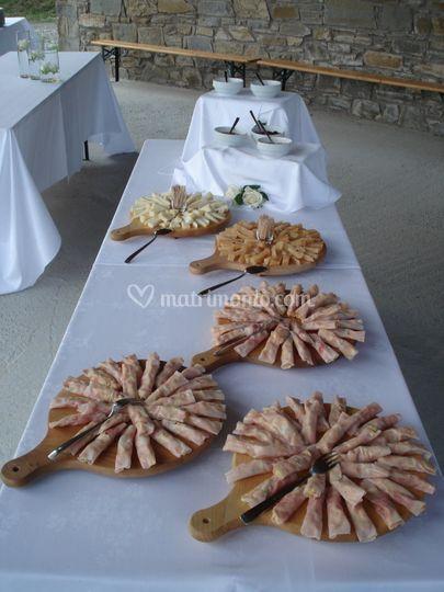 Aperitivo/antipasto a buffet