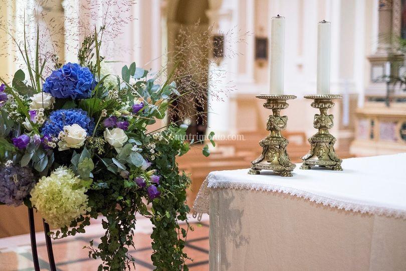 Allestimento altare