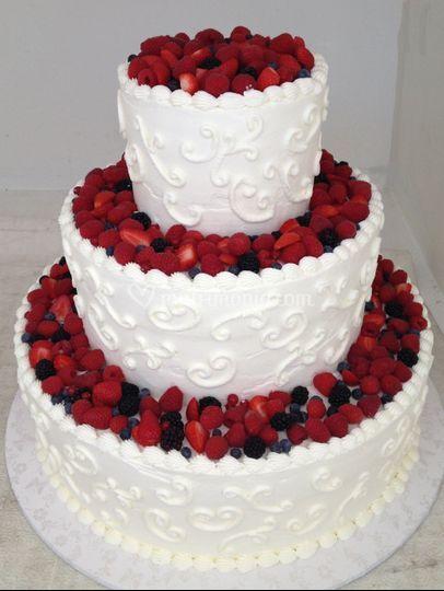 Torta Rossana