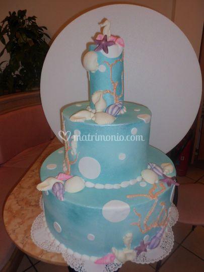 Weding cake marina