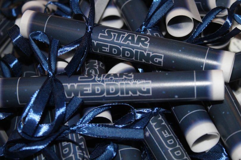 Star wedding-pergamena