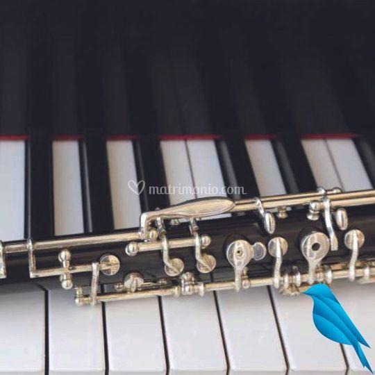 Clarinetto violino organo voce