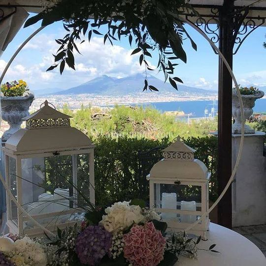 Panorama di villa maria
